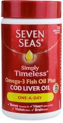 Seven Seas Cod Liver Oil One-A-Day Capsules 120 Capsules