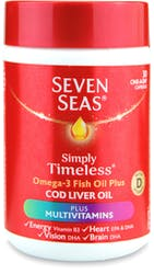 Seven Seas One A Day Cod Liver Oil Plus Multivitamins 30 Capsules