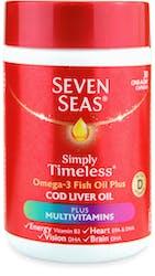 Seven Seas One A Day Cod Liver Oil Plus Multivitamins 30 Capsules