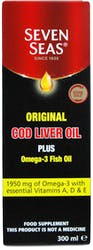 Seven Seas Original Cod Liver Oil & Fish Oil 300ml