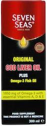 Seven Seas Original Cod Liver Oil & Fish Oil 300ml