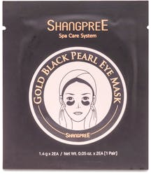 Shangpree 1 Pair Gold Black Pearl Eye Mask 1.4g x 2