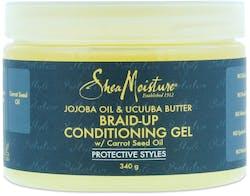 Shea Moisture Jojoba Oil & Ucuuba Butter Braid-Up Conditioning Gel 340g