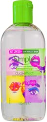 Simple Dual Effect Makeup Remover Limited Edition 125ml