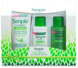 Simple Mini Regime 3 Piece Gift Set