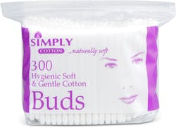 Simply cotton buds 300