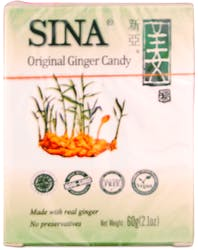 Sina Original Ginger Candy 60g