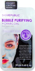 Skin Republic Bubble Purifying Charcoal Sheet Face Mask 25ml