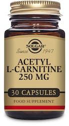 Solgar Acetyl-L-Carnitine 250 mg 30 Capsules