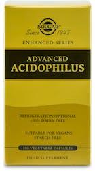 Solgar Advanced Acidophilus 100 Capsules