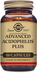 Solgar Advanced Acidophilus Plus 60 Capsules
