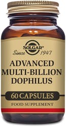 Solgar Advanced Multi-Billion Dophilus 60 Capsules