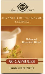 Solgar Advanced Multi-Enzymes Complex 90 Vegetable Capsules
