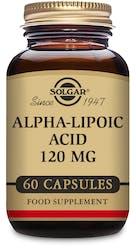 Solgar Alpha-Lipoic Acid 120 mg 60 Capsules