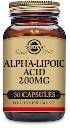 Solgar Alpha-Lipoic Acid 200 mg 50 Capsules