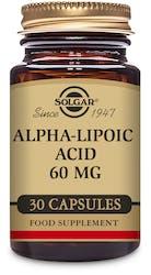 Solgar Alpha-Lipoic Acid 60 mg 30 capsules