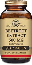 Solgar Beetroot Extract 500mg 90 Capsules