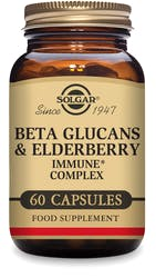 Solgar Beta Glucans & Elderberry Immune1 Complex Vegetable Capsules 60s