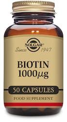 Solgar Biotin 1000µg 50 capsules