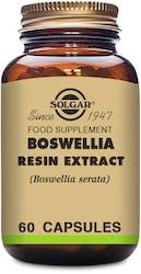 Solgar Boswellia Resin Extract 60 Capsules