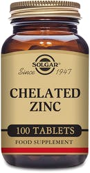Solgar Chelated Zinc 100 tablets