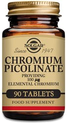 Solgar Chromium Picolinate 100 µg 90 Tablets