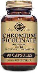 Solgar Chromium Picolinate 200g 90 Capsules