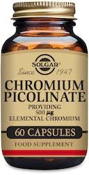 Solgar Chromium Picolinate 500 µg 60 Capsules