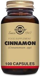 Solgar Cinnamon 100 Capsules