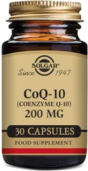 Solgar CoQ-10 200mg 30 Vegetable Capsules