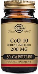 Solgar Coq-10 200mg 30 Vegetable Capsules