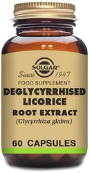 Solgar Deglycyrrhised Licorice Root Extract 60 Capsules