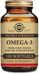 Solgar Double Strength Omega-3 120 Softgels