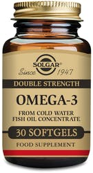 Solgar Double Strength Omega-3 30 Softgels