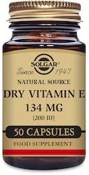Solgar Dry Vitamin E 134mg (200IU) 50 Capsules