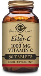 Solgar Ester-C Plus 1000 mg Vitamin C 90 Tablets