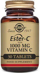 Solgar Ester-C Plus 1000mg Vitamin C 30 Tablets