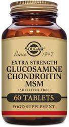 Solgar Extra Strength Glucosamine Chondroitin MSM Tablets 60s