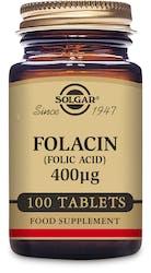Solgar Folacin (Folic Acid) 400µg 100 tablets