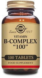 "Solgar Formula Vitamin B-Complex ""100"" 100 Tablets"
