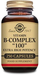 "Solgar Formula Vitamin B-Complex ""100"" 250 Capsules"