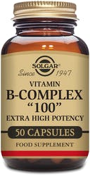 "Solgar Formula Vitamin B-Complex ""100"" - 50 Capsules"