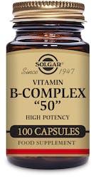 "Solgar Formula Vitamin B-Complex ""50"" 100 Capsules"