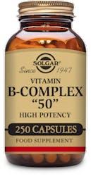 "Solgar Formula Vitamin B-Complex ""50"" 250 Capsules"