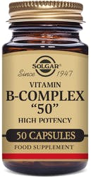 "Solgar Formula Vitamin B-Complex ""50"" Vegetable - 50 Capsules"