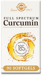 Solgar Full Spectrum Curcumin 185x 90 Softgels
