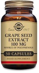 Solgar Grape Seed Extract 100 mg 30 Capsules