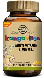 Solgar Kangavites Childrens vitamins (Tropical Punch) 120 Chewable Tablets