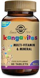 Solgar Kangavites Multivitamin Formula for Children (Bouncing Berry) 60 Tablets