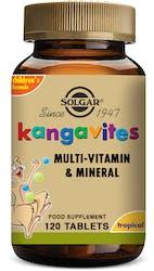 Solgar Kangavites Childrens vitamins (Tropical Punch) 120 Chewable Tablets